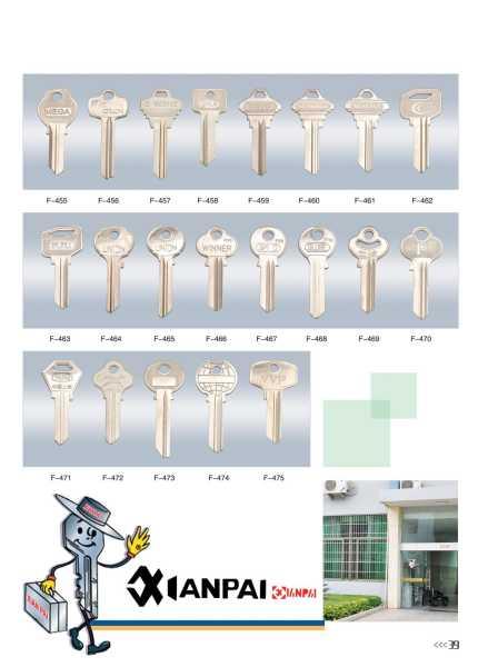 ключи заготовки харьков